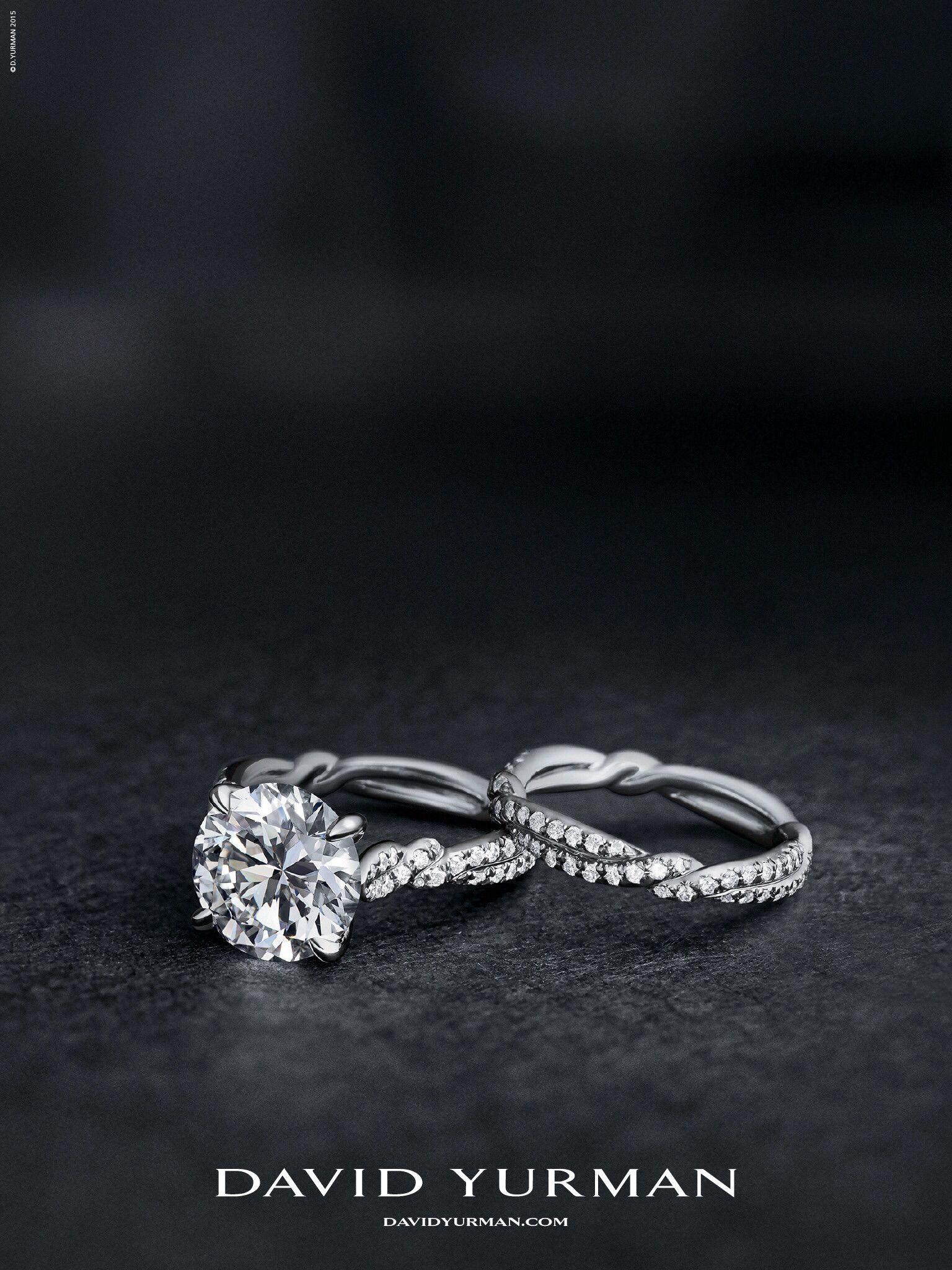 David Yurman Jewelry Advertising Bridal Rings Wedding Ring Bands
