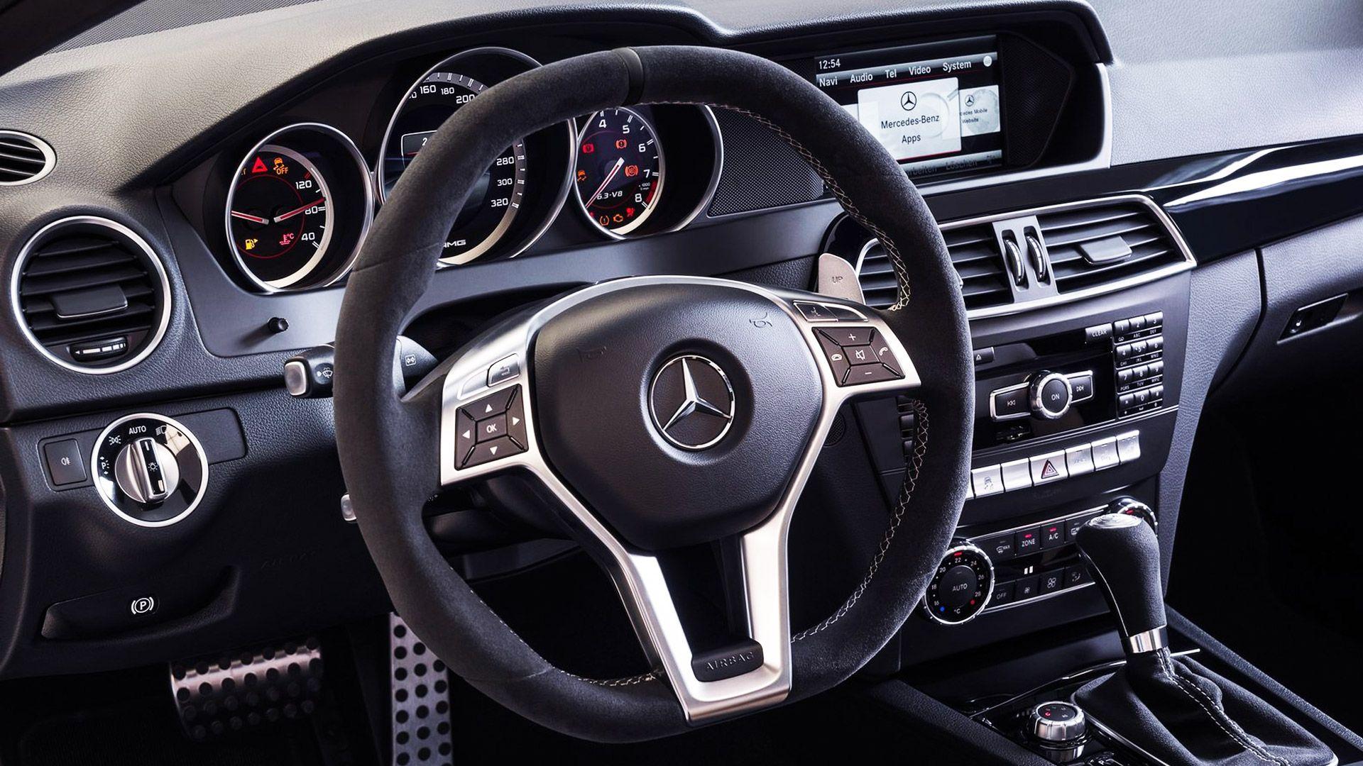 2014 Mercedes C63 Amg Edition 507 Dashboard Mercedes C63 Amg