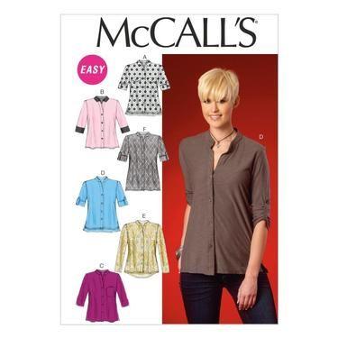 McCalls M7018 Misses\' Tops & Tunic   Spotlight Australia   obsessed ...