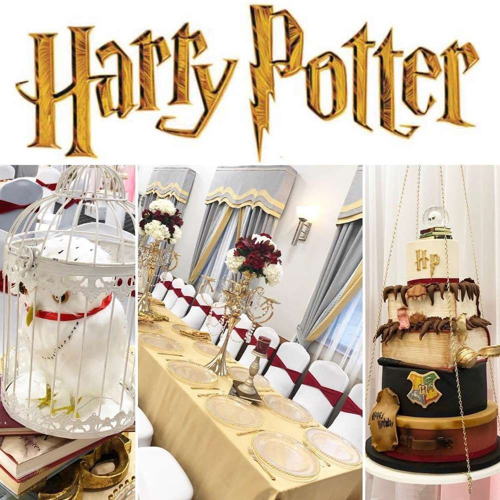 Harry Potter Quinceanera Party Ideas Photo 1 Of 22 Quinceanera Themes Harry Potter Birthday Quinceanera Party