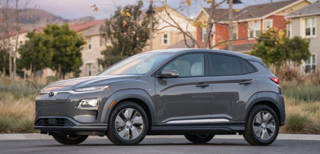 All New 2019 Hyundai Kona Electric Review Hyundai Electric Crossover Luxury Hybrid Cars