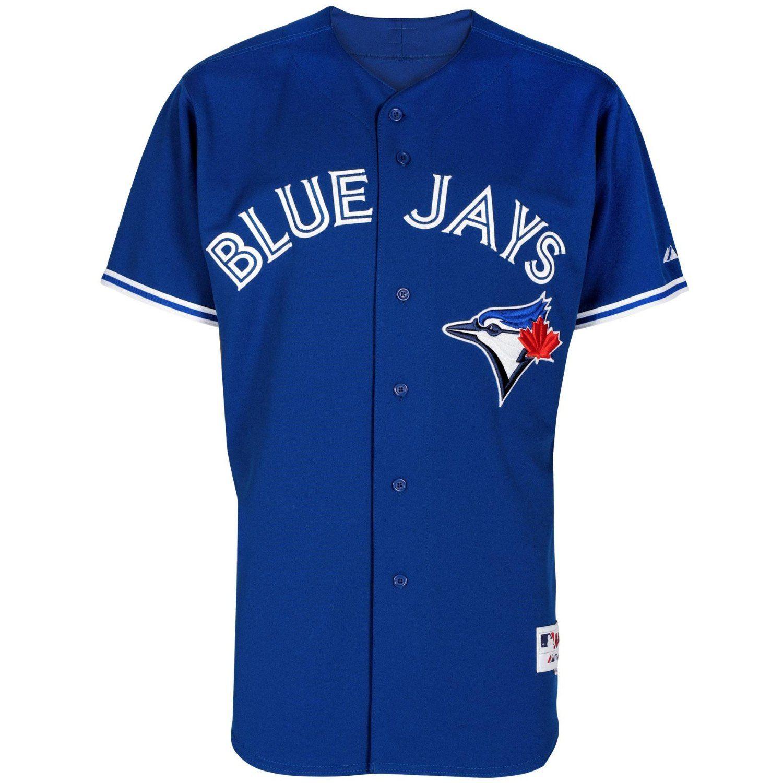 timeless design 9683e b6c83 Toronto Blue Jays Authentic Alternate MLB Baseball Jersey ...