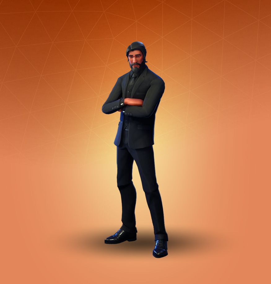John Wick Reaper Skins Epic Games Fortnite Fortnite