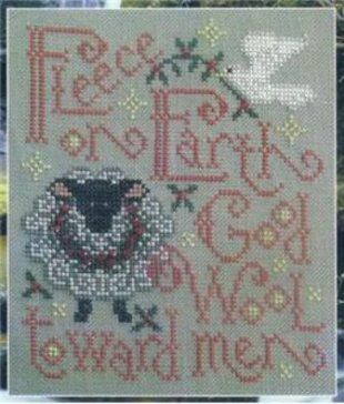 Christmas cross stitch patterns by Silver Creek Samplers - Fleece on Earth