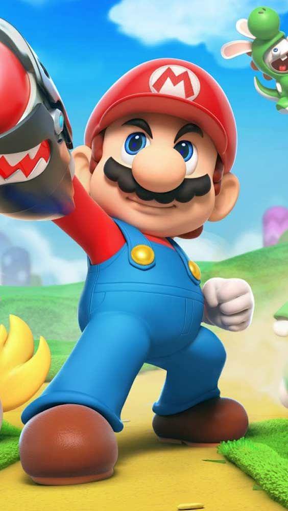 Papel De Parede Jogo Para Pc Em Hd Mario E Rabbids Kingdom Battle Personagens De Videogame Papeis De Parede De Jogos Personagens De Jogos