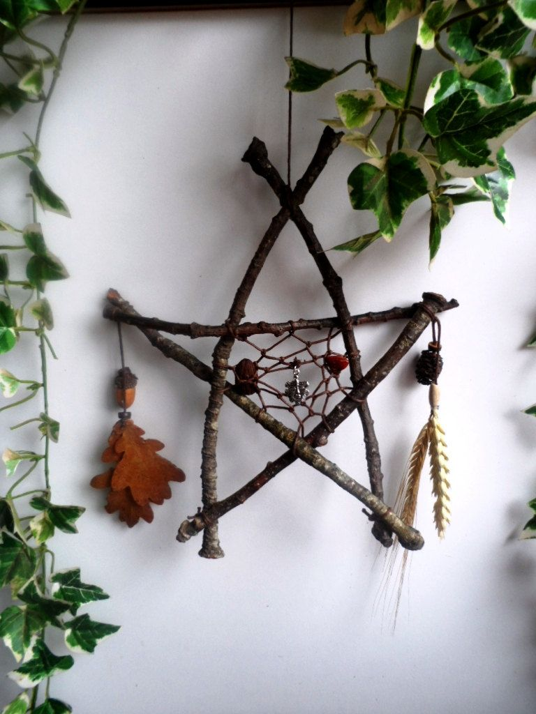 Pentagram Traumfänger Herbst