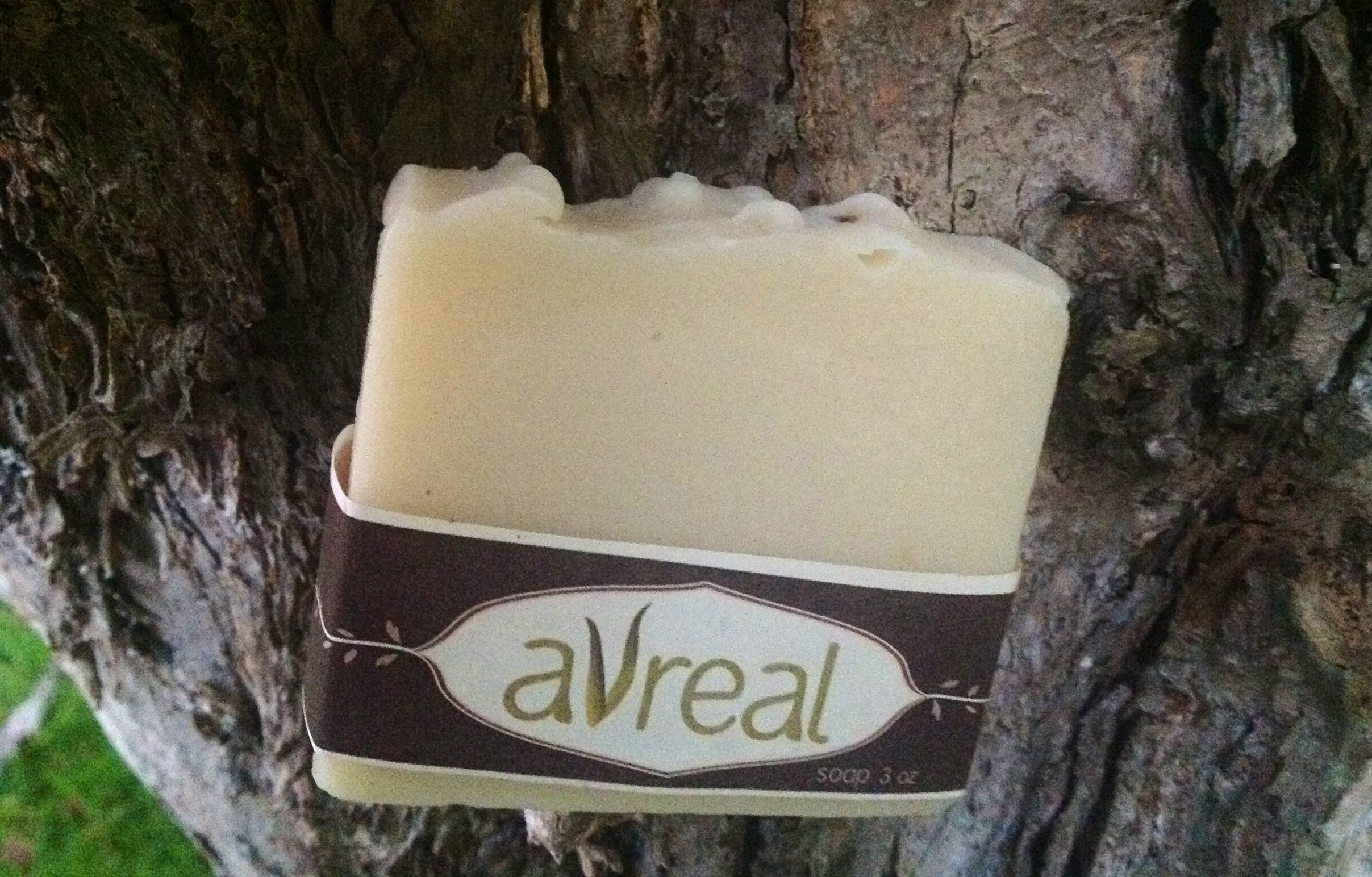 Sandalwood Soap-made by hand, with love of course! Oils of Rice Bran, Coconut, Grapeseed and Olive oils are used as well as Shea Butter.  Vegan. Phthalate Free!