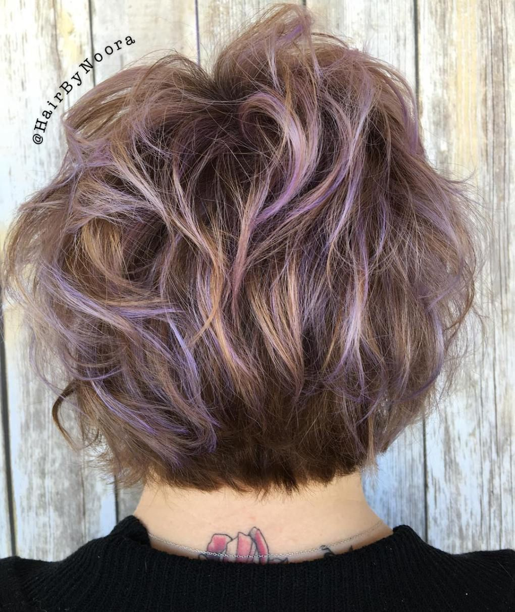 50 Ideas For Light Brown Hair With Highlights And Lowlights Purple Highlights Brown Hair Brown Hair With Highlights Highlights Brown Hair Short