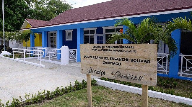 INAIPI deja en funcionamiento estancia infantil en Los Platanitos, Santiago