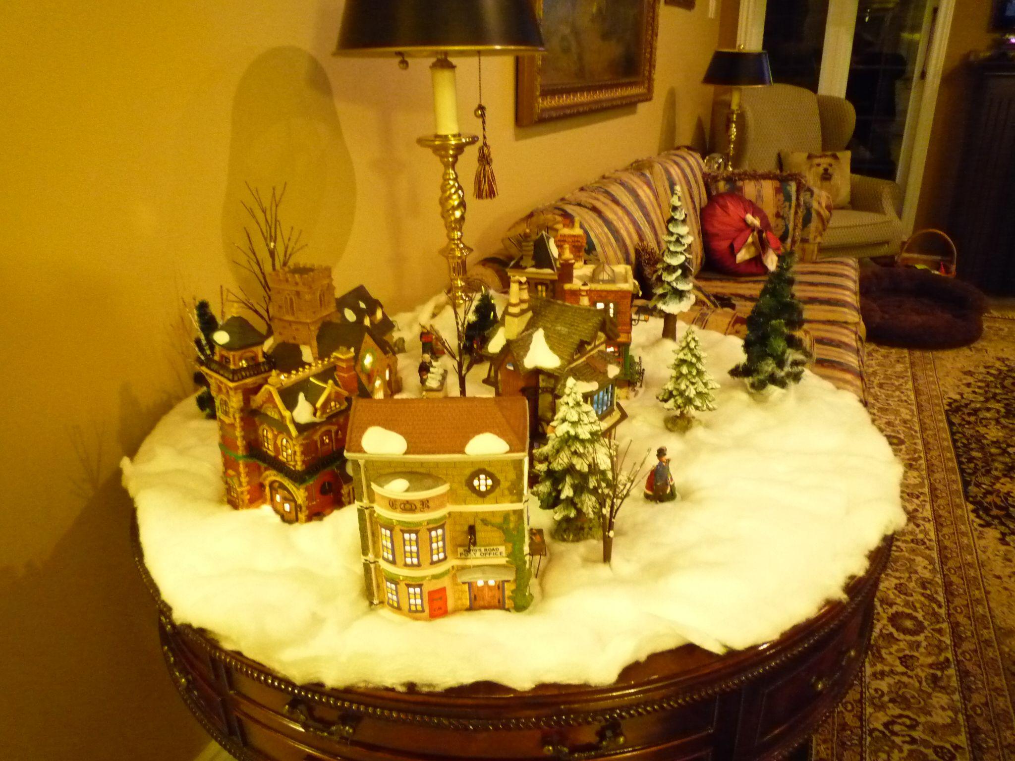 Dept 56 Christmas home, Dept 56, Christmas