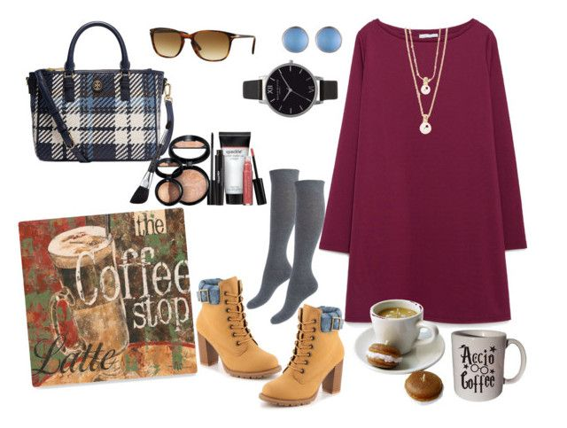"""""""Coffee Fall Date"""" by mikage44 on Polyvore featuring Zara, Mojo Moxy, Kate Spade, Tory Burch, Persol, Alexis Bittar, Olivia Burton, Coffee Shop and Laura Geller"""