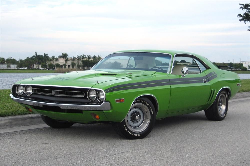 71 Dodge Challenger Cars Bikes Muscle Cars American Muscle