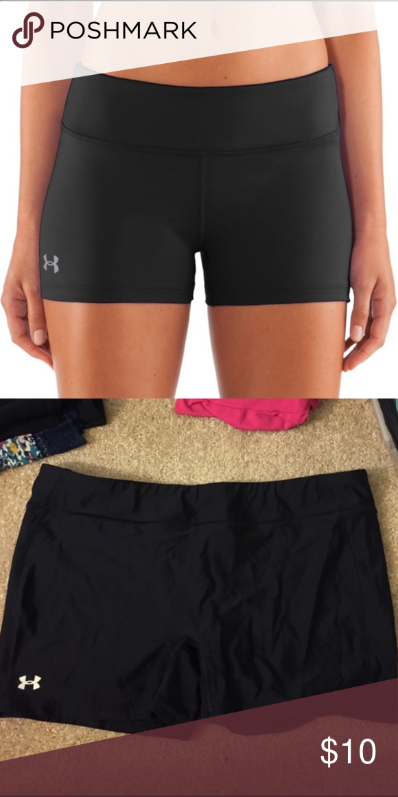 Under Armor Volleyball Spandex Black Under Armor Volleyball Spandex Under Armour Shorts Volleyball Spandex Gym Shorts Womens Under Armour Women