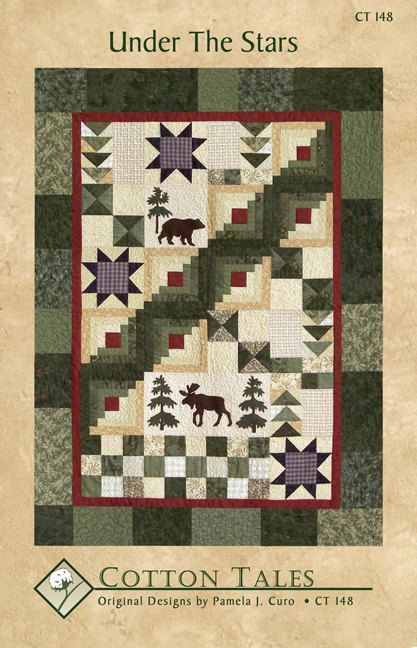 Under The Stars Wall Quilt Pattern Star Quilt Patterns
