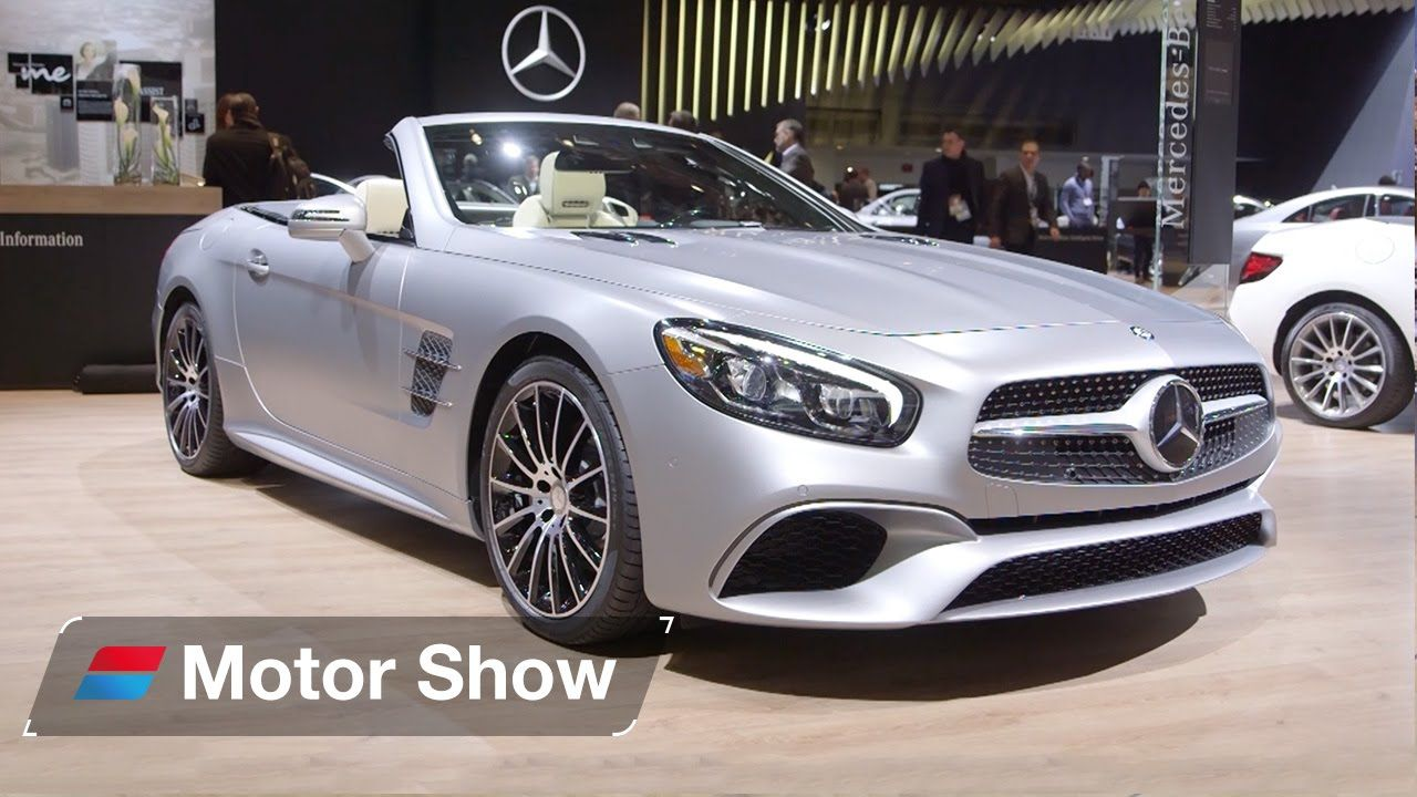 Mercedes SLC vs Mercedes SL – Detroit Motor Show