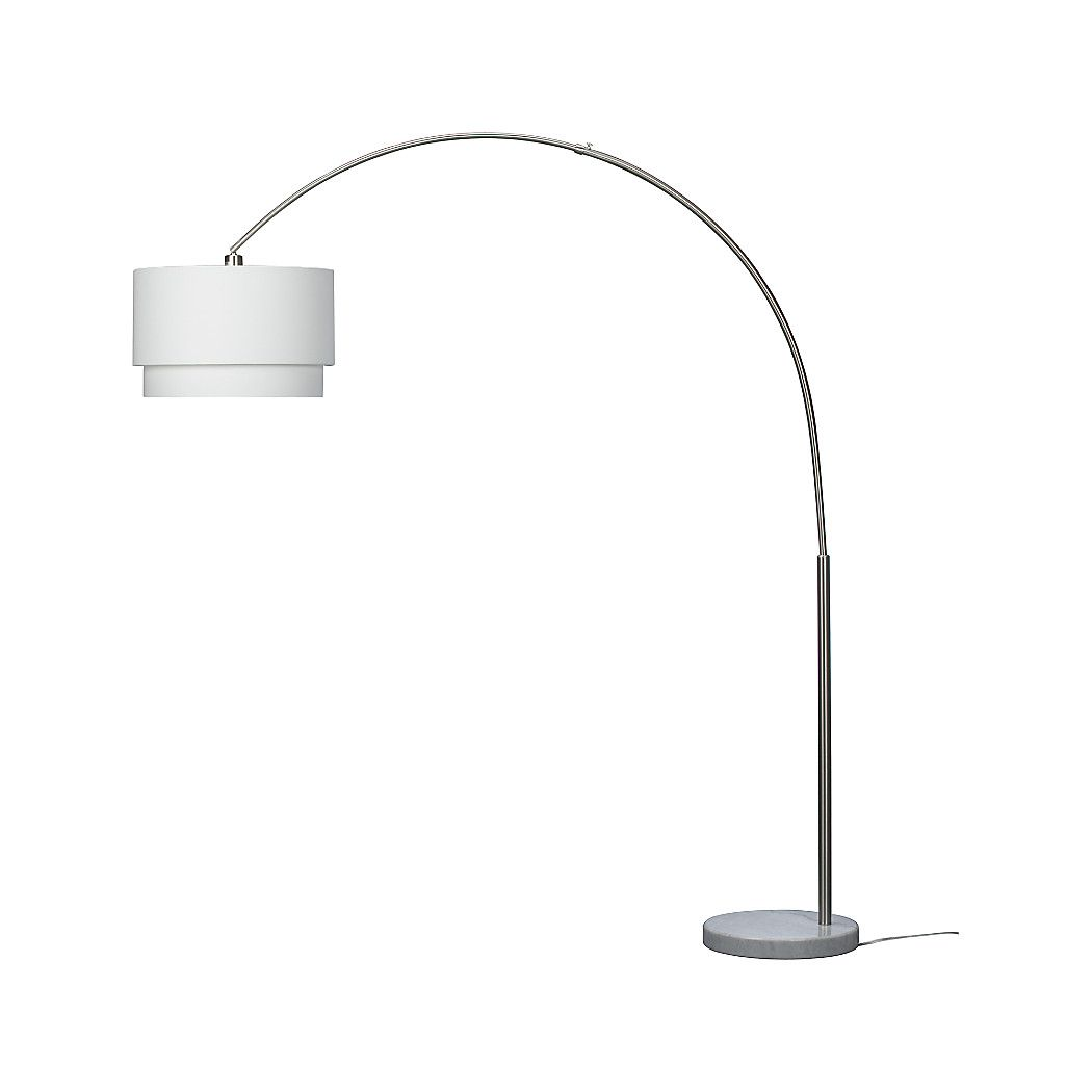 Meryl Arc Floor Lamp Reviews Crate And Barrel Floor Lamp