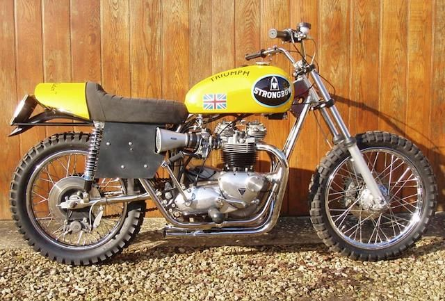 1978 Triumph 750cc T140V Bonneville 'Strongbow' Flat-Track Racing Motorcycle Frame no. GTR1 Engine no. T140V AP81383
