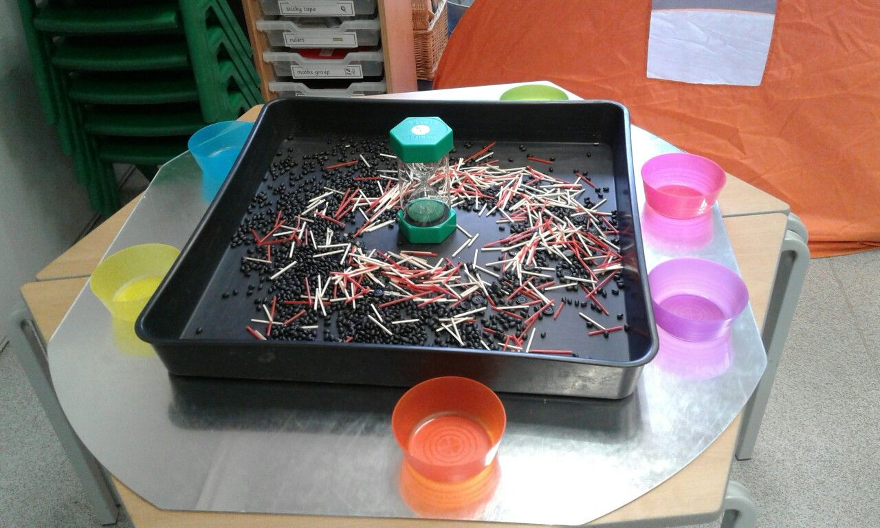 Set The Timer Choose An Item To Collect In One Minute Eyfs Time