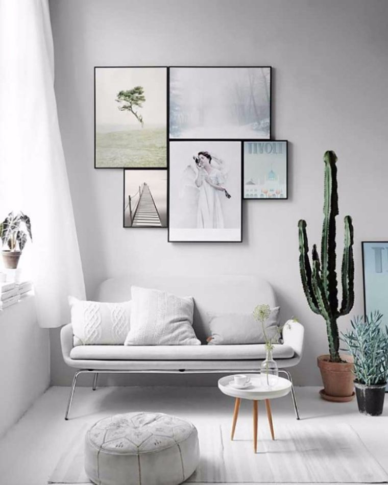 Salon Nordique Et Mobilier Scandinave D Ambiance Zen Minimalist Living Room Scandinavian Style Interior Room Inspiration