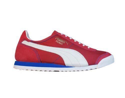 Puma Roma Slim Nylon Mens sneakers / Shoes - Red - SIZE US 10.5 PUMA http://www.amazon.com/dp/B007VDWJDU/ref=cm_sw_r_pi_dp_4BLoub0Y9ZFK5