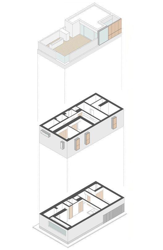 Gallery of casa cs moramarco ventrella architetti 12 for Case arredate da architetti