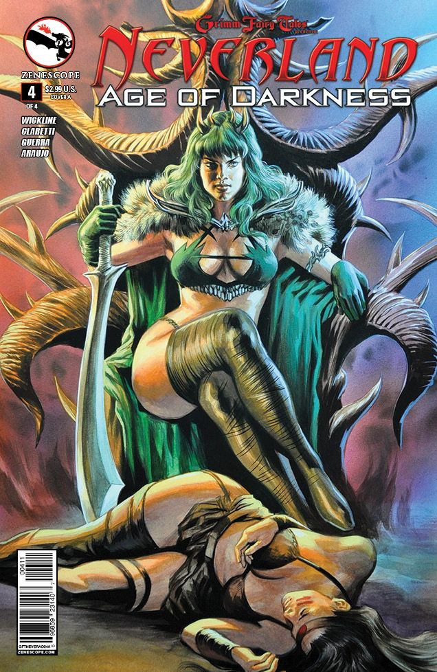 Neverland Age Of Darkness 4 Of 4 Cover A Zenescope Gft Neverland Ageofdarkness Cover Artist Fel Grimm Fairy Tales Fairy Tales Comic Book Collection
