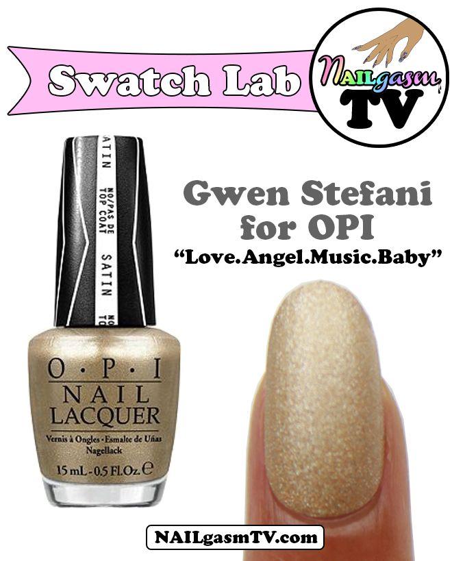 Gwen Stefani for OPI   Love.Angel.Music.Baby   #nails #nailpolish ...