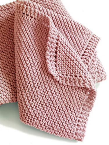 8968c70ed Knitionary  easy and free  simply beautiful baby blankets to knit ...