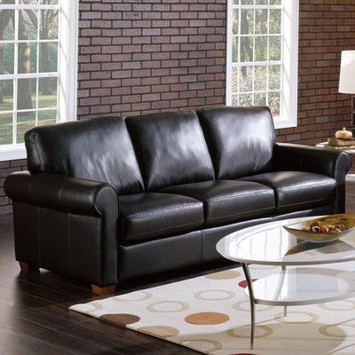palliser furniture magnum modular sofa upholstery all leather protected tulsa ii jet leather - Palliser Furniture