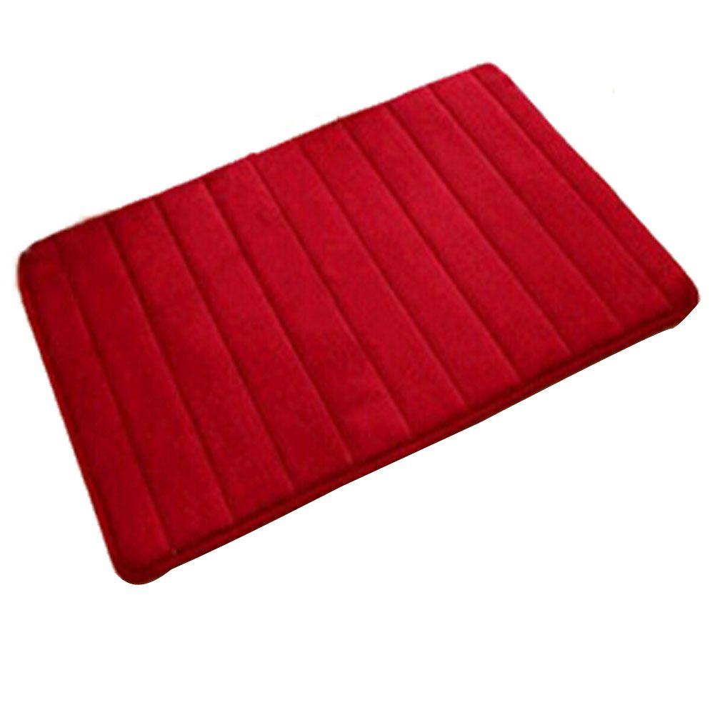 Click To Buy Gsfy Bath Mat Memory Foam Non Slip Bath Mats 50 80