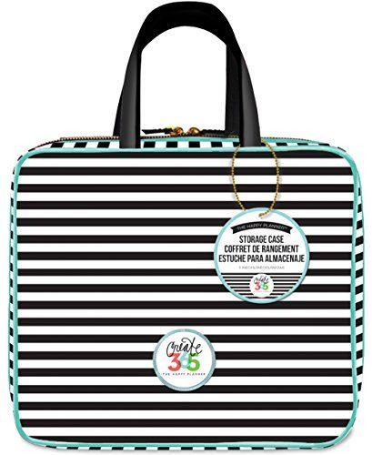 me & my BIG ideas Striped Storage Case Planner Me & My Bi...