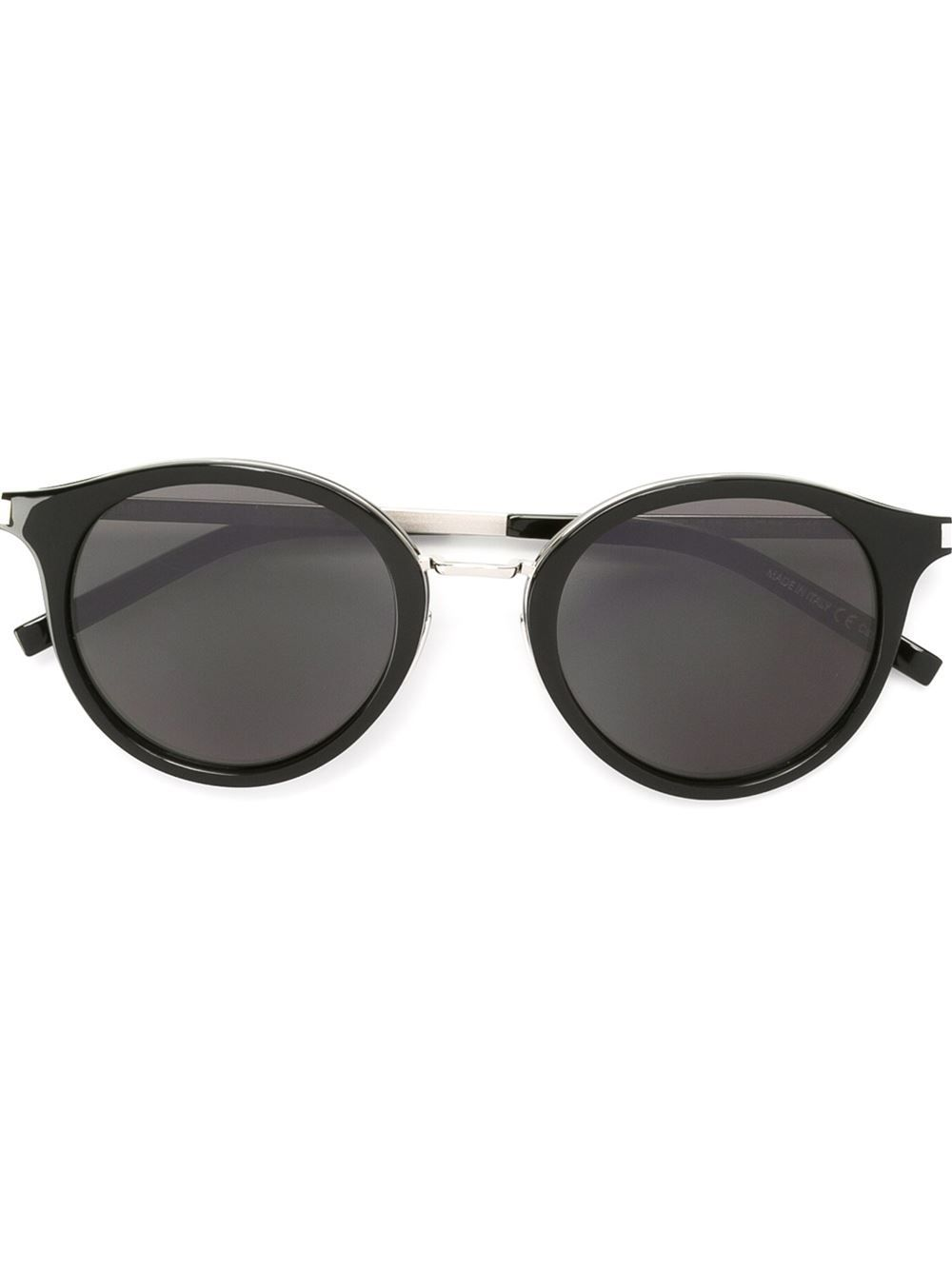 Saint Laurent Eyewear Gafas De Sol Con Montura Redonda | Saint ...