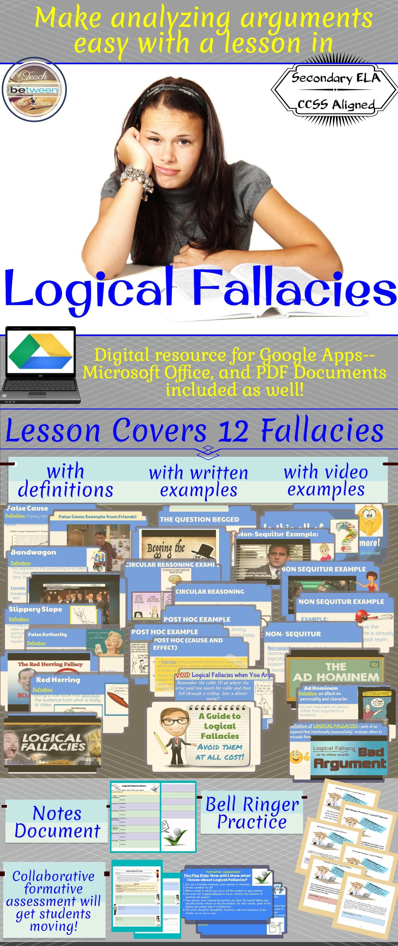 Logical Fallacies Are A Critical Component Of Your