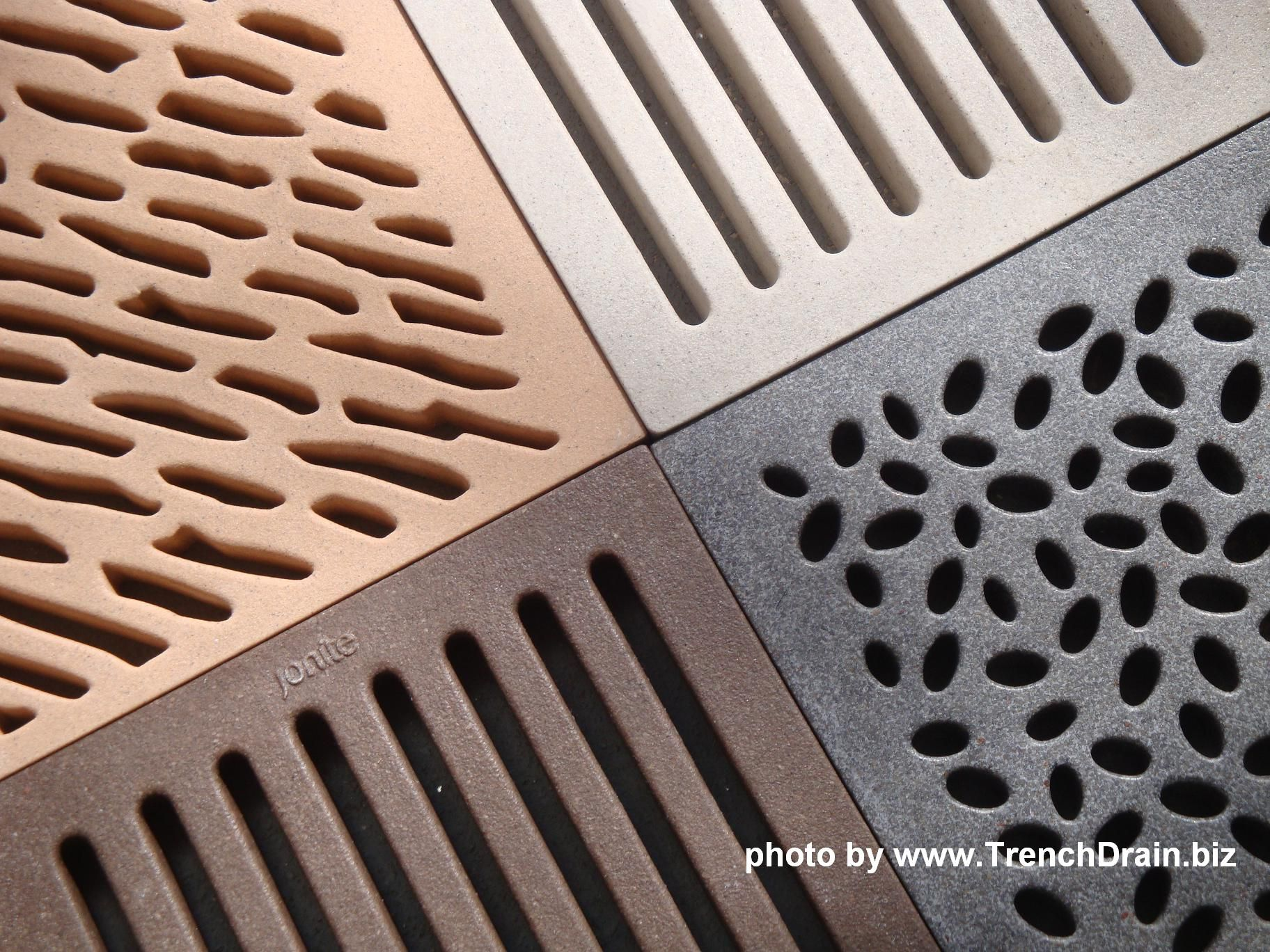 Decorative Plastic Trench Drain Protzman Residence