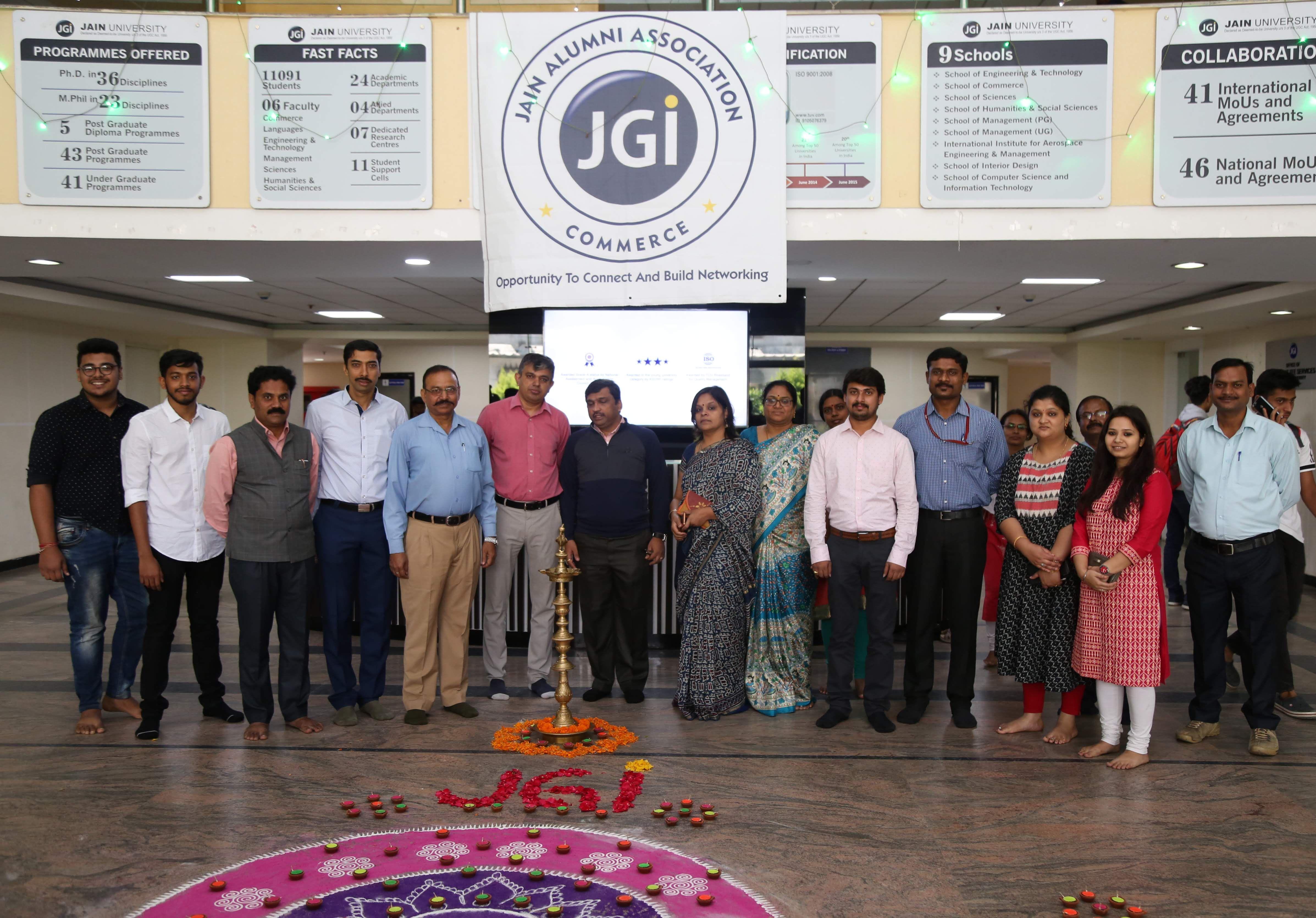 Jain Deemed To Be University School Of Commerce Alumni