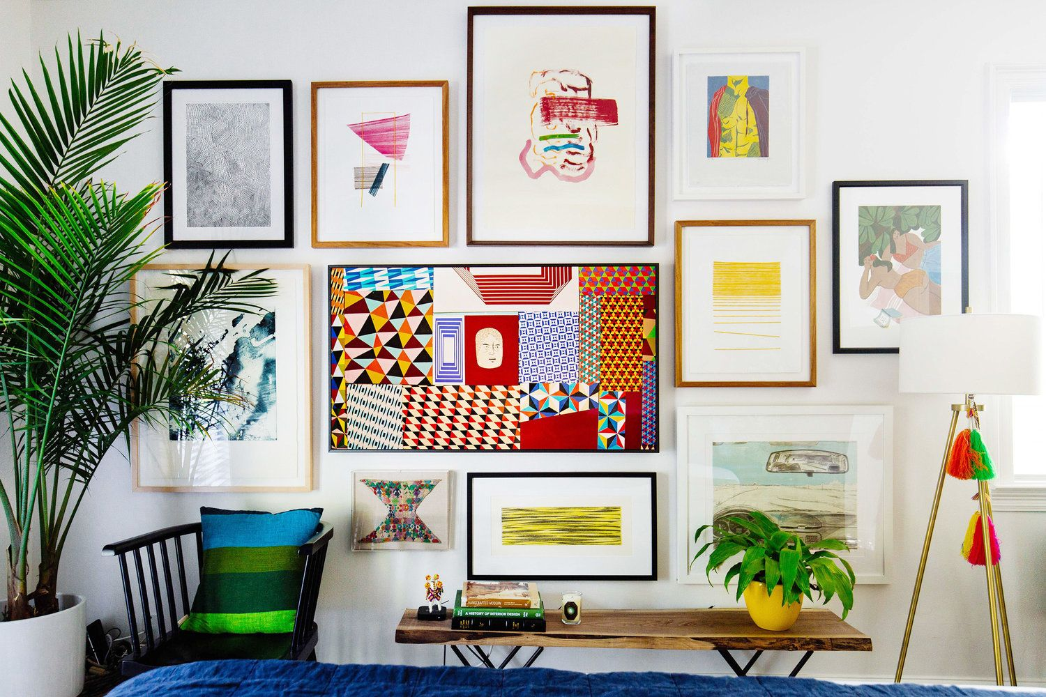 Creating A Beautiful Gallery Wall With The Frame Tv