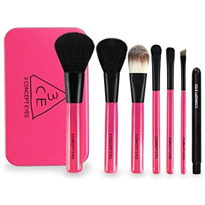 Frola cosmetics 3 Concept Eyes Mini Brush Kit (Pink