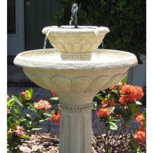 deb9d8b910308f33983f289182152a1e - Smart Solar Gardens 2 Tier Solar On Demand Fountain