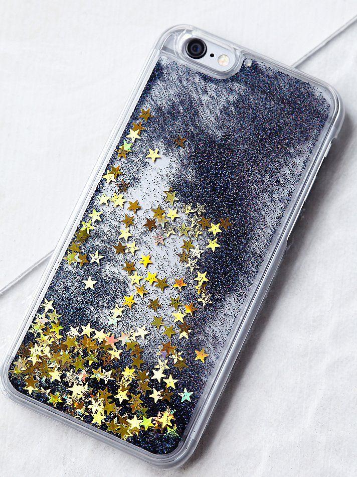Skinny Dip London Liquid Glitter Iphone Case at Free