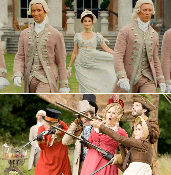 """MOVIES I WANT TO SEE: Austenland. Blogger FlixChatter says, """"I really enjoyed this one, it's perhaps one of the most fun I had at the movies of late."""" Definitely one I want to see! Learn more by clicking on the picture. #austenland"""