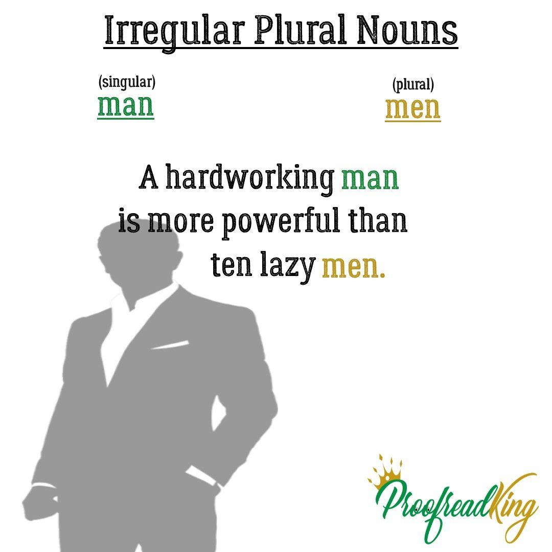 Irregular Plural Nouns Irregular Plurals Plurals Irregular Plural Nouns