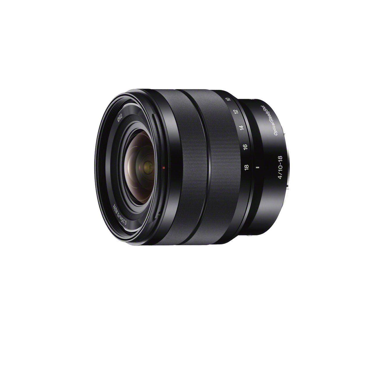 Sony SEL1018 Super-Weitwinkel-Zoom-Objektiv schwarz: Amazon.de ...