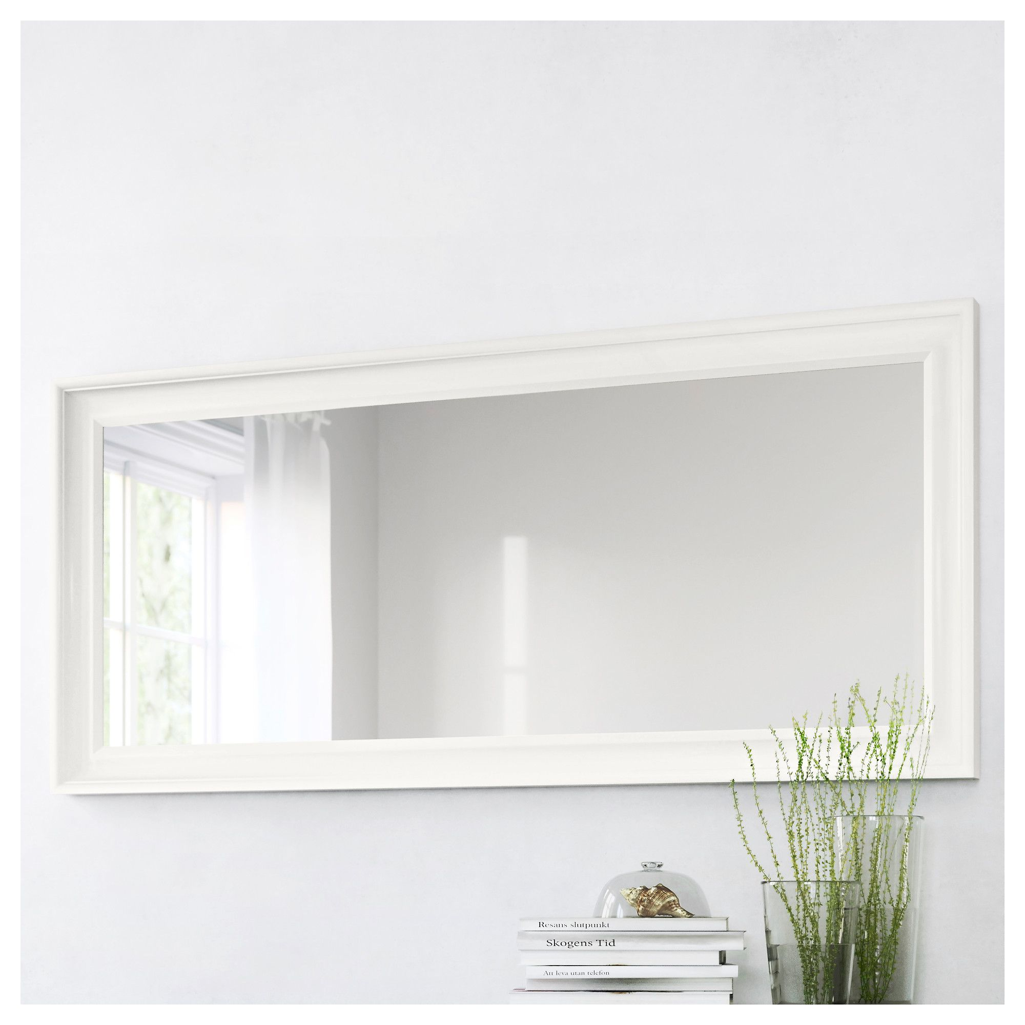 Spiegel Songe Hemnes Mirror White In 2019 Build