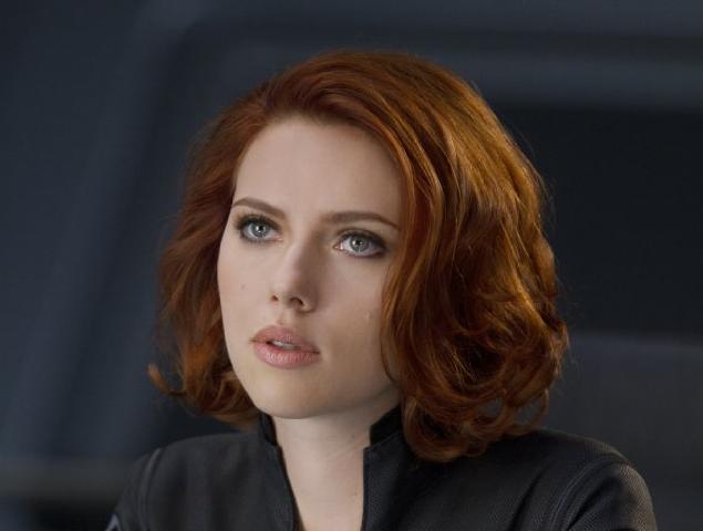 Doodlebug The Avengers Scarlett Johansson Red Hair Hair Inspiration Color Black Widow Makeup
