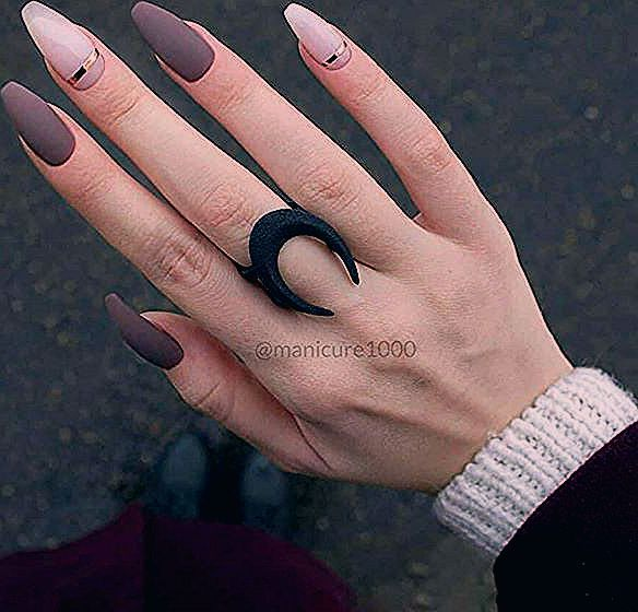 Photo of Short Arcylic Coffin Nails Design For Fall 2019