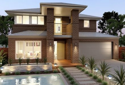 clarendon display homes sherwood 37 chilton facade visit wwwlocalbuilderscom - Modern Display Homes