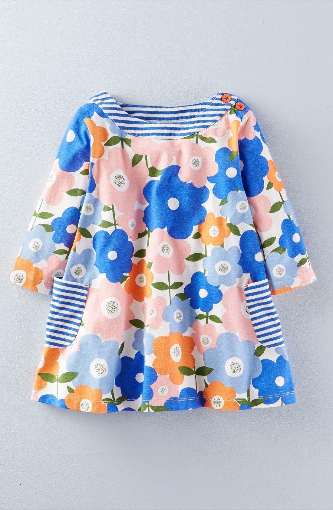 Mini Boden Print Jersey Tunic Toddler Girls Little Girls