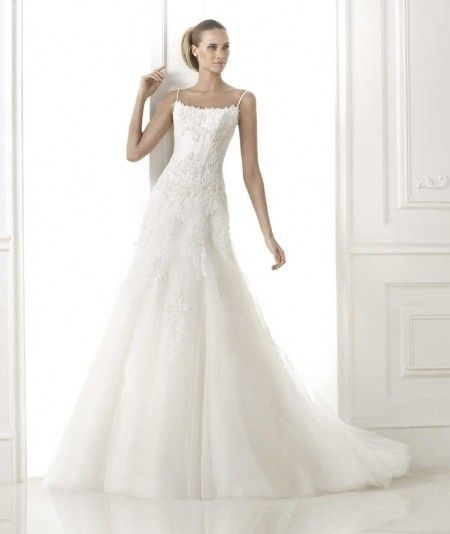 Wishesbridal A Line Wedding Dress