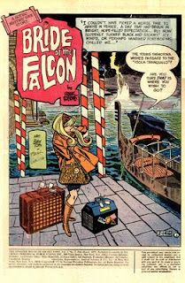 Grantbridge Street & other misadventures: Bride of the Falcon by Frank Robbins and Alex Toth.