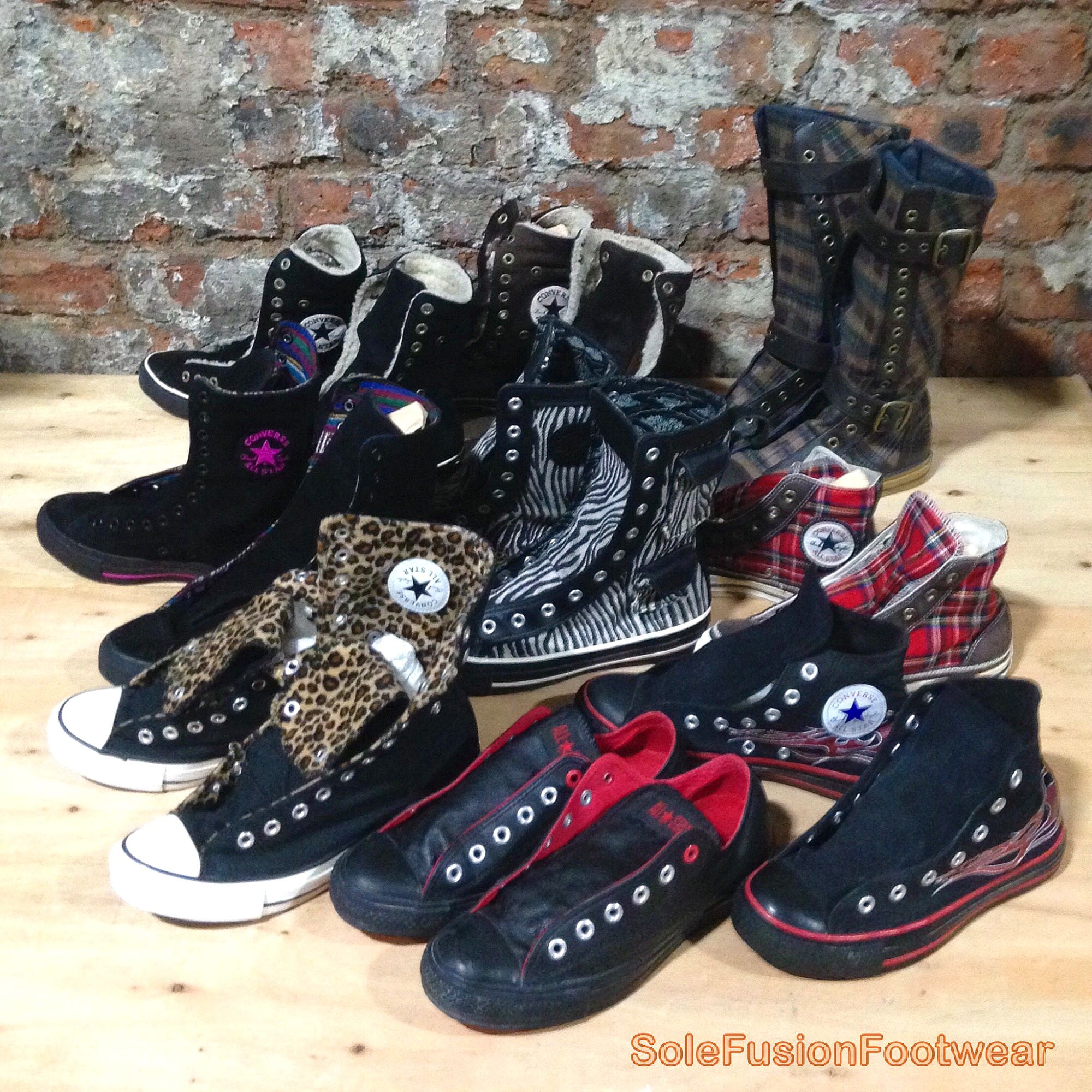 8d3c08e89749 Converse All Star X Hi Rare Chuck Taylor High Low Top Vintage Shoes and  Boots